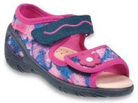 433X021 26 - SUNNY -dív.sandálky befado,26-30,rů-m
