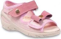 433P024 20 - SUNNY - sandálky befado,zlato-růžo