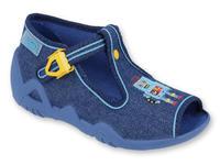 217P103 18 - chl.sandálek, modrá, robot