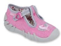 110P360 18 - dívčí přezka, růžová, jednorožec