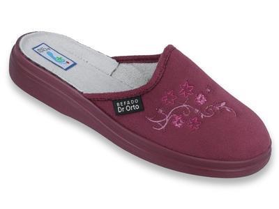 132D014 37 - Dr.ORTO - pantofle dámské, bordo