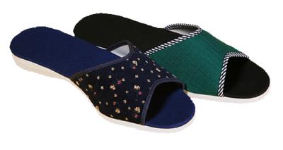 003 - Dámské pantofle, otevřená špice 35