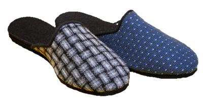 040 - Pánské pantofle, ZŠ, silnější vršek, vel. 39