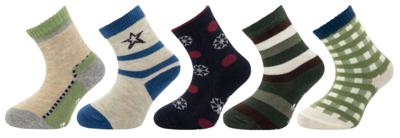 1517 - chlapecké ponožky s ABS, 12-13 (18-20)