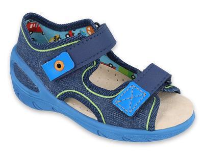 065P130 20 - SUNNY chlapecké sandálky Befado modré