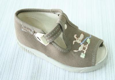 631B099 19 - chl.sandálek, hnědá, pes + bouda