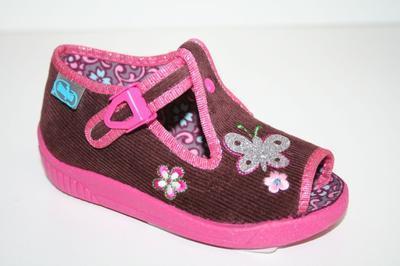 631P226 18 - dív.sandálek, motýlek