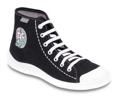 892Q089 37 - chlap. kotníkové boty Befado, černé