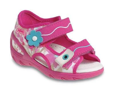 065X093 27 - SUNNY - sandálky Befado, růžová