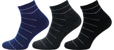 1121 - pánské kotníkové ponožky, 27-29 (41-43)