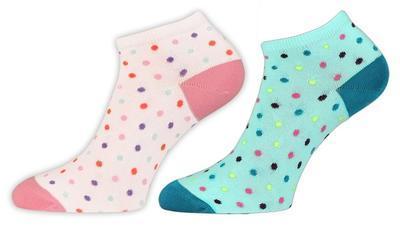KAROLÍNA - dámské kotníkové ponožky, 24-25 (37-38)