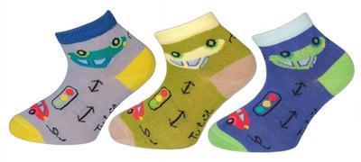 AUTÍČKO (TREPON), chlapecké ponožky, 13-15 (19-22)