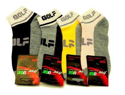 N17 - dámské kotníkové ponožky GOLF, 24-25 (37-38)