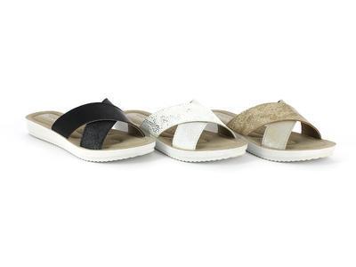 INBLU - MORBIN dámské pantofle bílé 36
