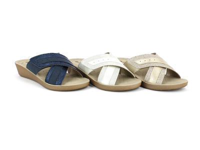 INBLU - INCLOUD dámské pantofle bílé 35