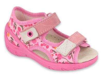 065P143 21 - SUNNY dívčí sandálky Befado růžové