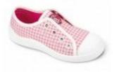 107X021 25 - dívčí tenisky BEFADO, růž-bílá kostka