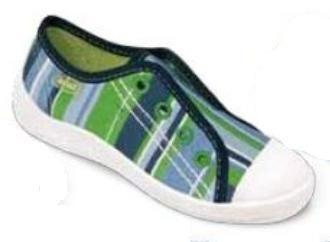 107X051 25 - chlapecké tenisky BEFADO,modro-zelené