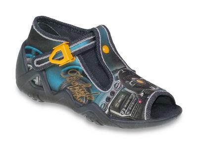 217P082 18 - chlapecké sandálky Befado, volant