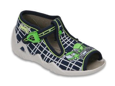 217P087 20 - chlapecké sandálky Befado, auto
