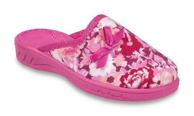 707X375 27 - dívčí pantofle Befado ZŠ, růž. potisk