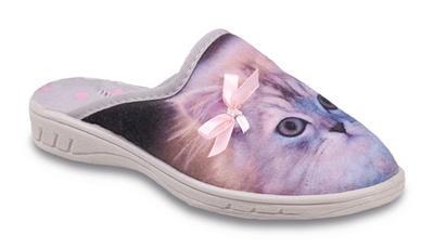 707X371 26 - dívčí pantofle Befado ZŠ, kočička