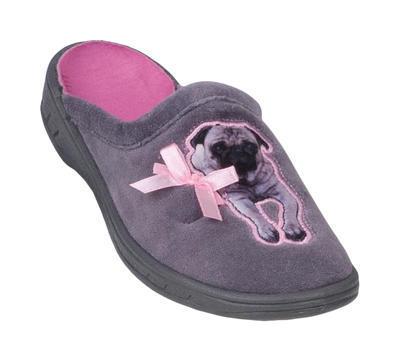 707Y329 31 - dívčí pantofle Befado ZŠ, buldoček