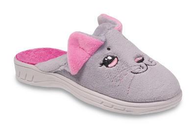 707Y387 36 - dívčí pantofle Befado ZŠ, kočička