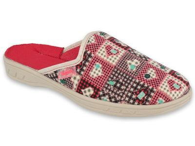 707Y413 31 -JOGI dívčí pantofle Befado ZŠ, srdíčka