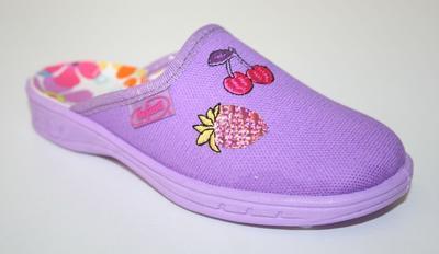 707X227 26 - dívčí pantofle Befado ZŠ, ovoce