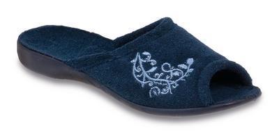 256D014 37 - VIKI OŠ, pantofle, celofroté, modrá