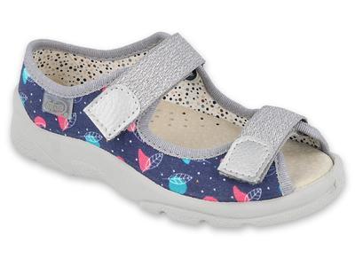 869X144 25 - dívčí sandálky Befado, kožená stélka