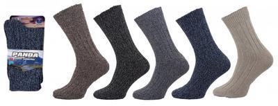 1222 - TEPLÉ ponožky PANDA, vel. 35-38