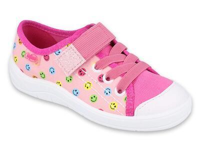 251X166 25 - dívčí tenisky Befado 1SZ růžové,smile