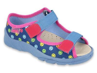 869Y150 31 - dívčí sandálky Befado, kožená stélka
