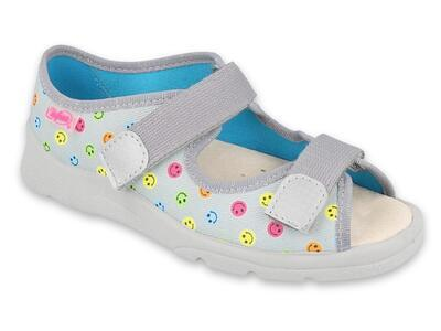869Y153 31 - dívčí sandálky Befado, kožená stélka