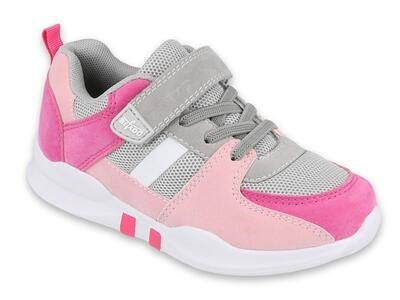 516Y071 30 tenisky BEFADO SPORT COLL STRIPE růžové