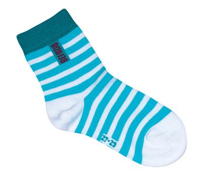 001UVW029 33-35 - ponožky Befado, MODRÁ, vzor 998