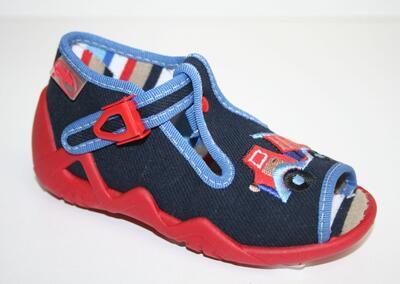 217P013 18 - chlapecké sandálky Befado, sklápěčka