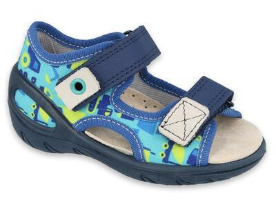 065P156 20 - SUNNY chlapecké sandálky Befado, auta