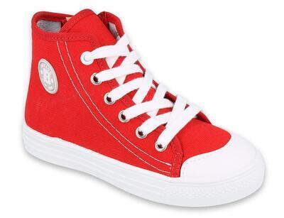 438X011 27 - FUNNY vysoké tenisky Befado červené