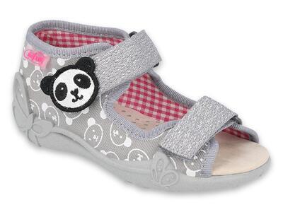 342P031 18 - dívčí sandálky Befado, kožená stélka