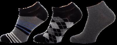 KM09 - kotníkové ponožky MULTIPACK, 27-29 (39-42)
