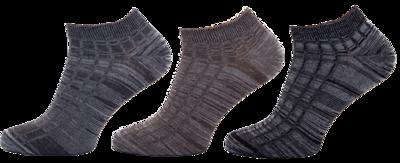 KM11 - kotníkové ponožky MULTIPACK, 27-29 (39-42)