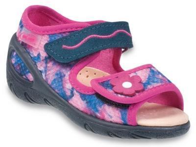 433P021 20 - SUNNY - sandálky befado, dívčí,růž-m