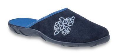 235D157 36 - PAULA ZŠ, tm.modrá,květinový ornament