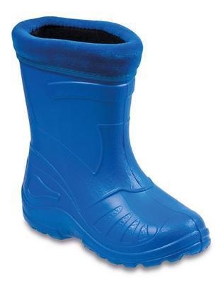 162Y106 30 - gumáčky zateplené vložkou, modrá