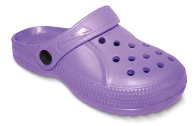 159Y002 30 - dětské pantofle EVA befado fialová