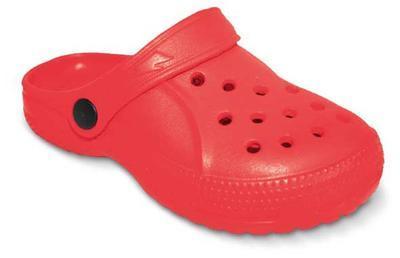 159Y005 30 dětské pantofle EVA befado červená