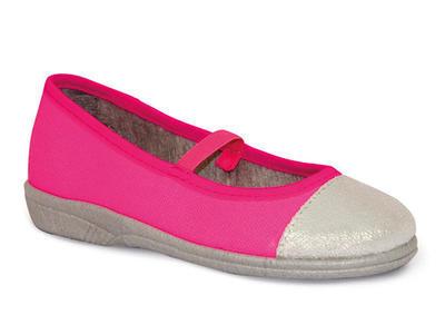346Y003 33 -dív.balerínka,1gumka,růžovo-stříbrné